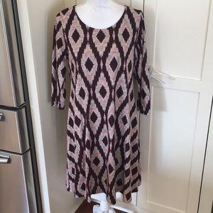 Ikat Maternity Sweater Dress